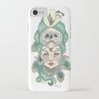anxiety iPhone & iPod Cases featuring Anxiety by Melissa Smets
