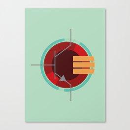 A Transistor Canvas Print