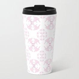light pink tui  Travel Mug