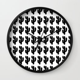 Cactus Party Wall Clock