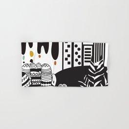 Black and white landscape Hand & Bath Towel