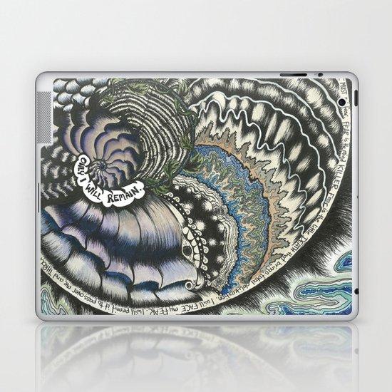 Golden Spiral (no fear) Laptop & iPad Skin