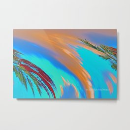 """Tropical Hurricane #2"" Print Metal Print"