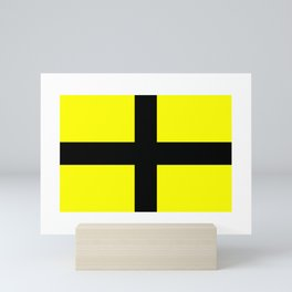 Flag of Saint David  Mini Art Print