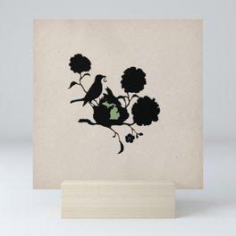 Michigan - State Papercut Print Mini Art Print