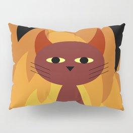Hell Cat Pillow Sham