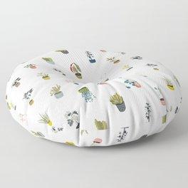 plants in pots Floor Pillow