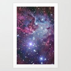 Nebula Galaxy Art Print