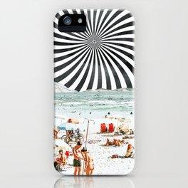 Summer On The Beach #digitalart #travel iPhone Case