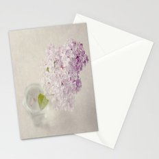 Textured Lilac  Stationery Cards