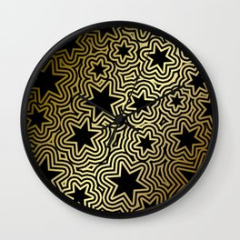 Night Stars of the South Wall Clock