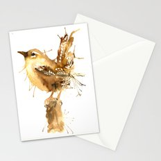 Mr Wren Stationery Cards