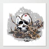 studio killers Canvas Prints featuring Hidden Killers by J.C.P.Scuba