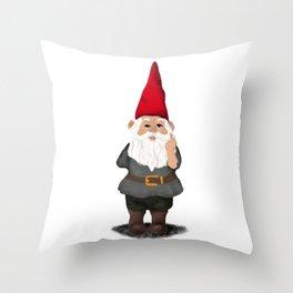 Hangin with my Gnomies - FU Throw Pillow