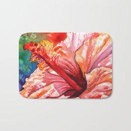 Tropical Hibiscus 2 Bath Mat