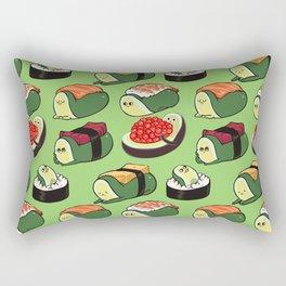 Sushi Avocado Rectangular Pillow