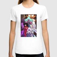 neon genesis evangelion T-shirts featuring Neon Gem Evangelion by AMC Art