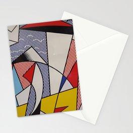 A vectorised Lichtenstein Stationery Cards