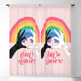That's Amore Blackout Curtain
