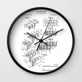 Lego: Original Patent Wall Clock