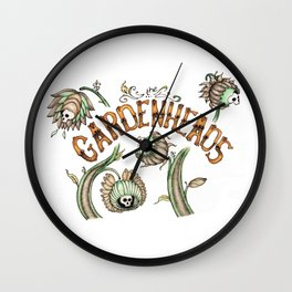 The Gardenheads Wall Clock