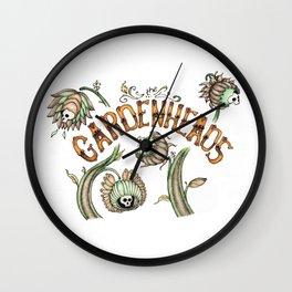 The Gardenheads Wall Clock