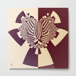 The Cross of Kells Metal Print