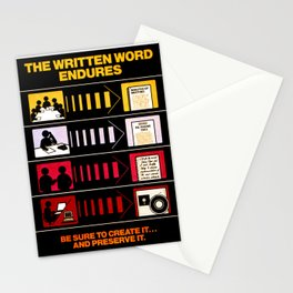 The Written Word Endures. Be Sure to Create It . . . And Preserve It. Stationery Cards