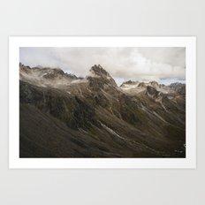 Hatcher Pass, AK Art Print