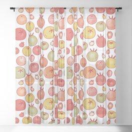 Tomatoes Sheer Curtain