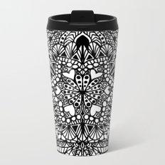 Doodle Flow Metal Travel Mug