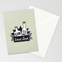 Gin Tonic True Love Stationery Cards