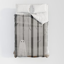 The Woods are full of Ghosts Duvet Cover