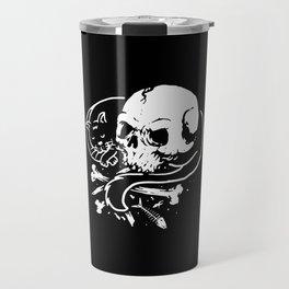 Dark Cat Travel Mug
