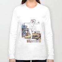 metropolis Long Sleeve T-shirts featuring Metropolis by Marieke Schmidt
