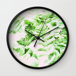 Fern Forest #society6 #decor #buyart Wall Clock