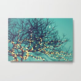 twinkle lights Metal Print
