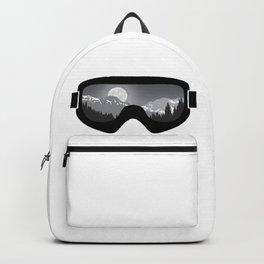 Moonrise Goggles - B+W - Black Frame | Goggle Designs | DopeyArt Backpack