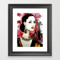 Rossy Framed Art Print