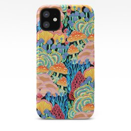Fungi World (Mushroom world) - BKBG iPhone Case
