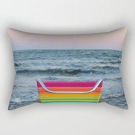 Beach Chair Rectangular Pillow