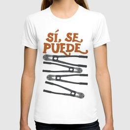Sí se puede T-shirt