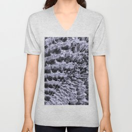 Ice Fields of Antarctica Unisex V-Neck