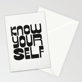 KNOW YOURSELF Stationery Cards