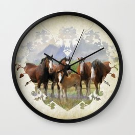 Country Living Wall Clock