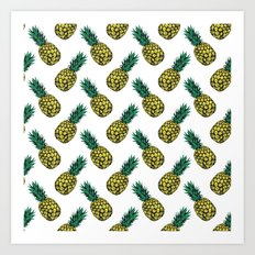 Neo-Pineapple - Pineapple Art Print
