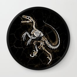 Dino Fossil 2 Wall Clock