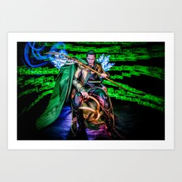 Little Loki Art Print