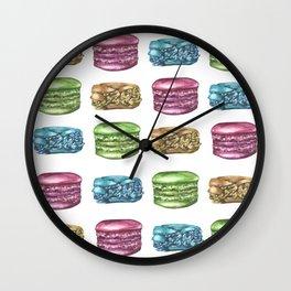 Colorful Macaroon Variety Wall Clock