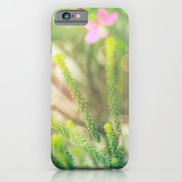 Where the Fairies Play - Botanical Photography #Society6 iPhone Case